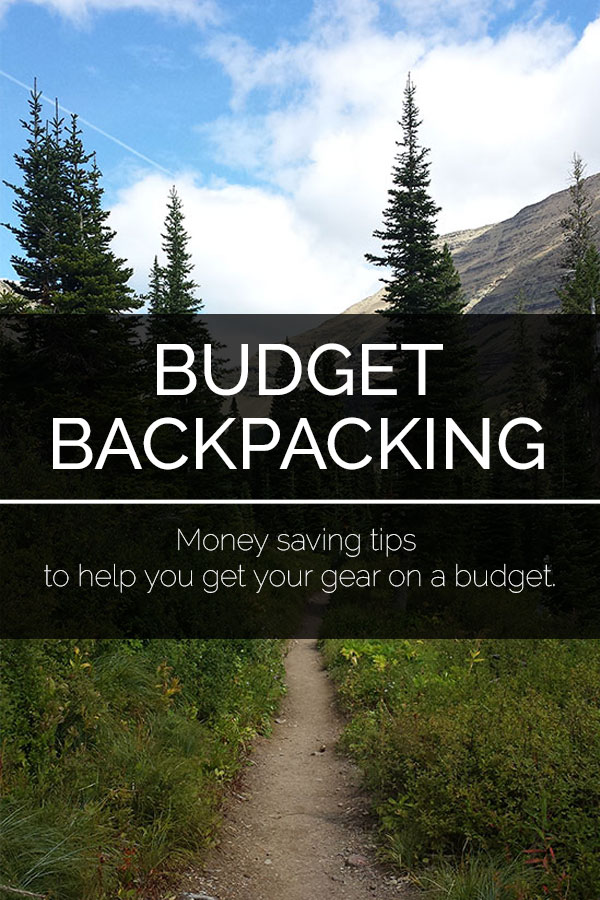 Backpacking gear can be incredibly expensive, especially for those just starting out. Check out these money saving tips to help you get your gear on a budget. #backpacking #camping #bearplate