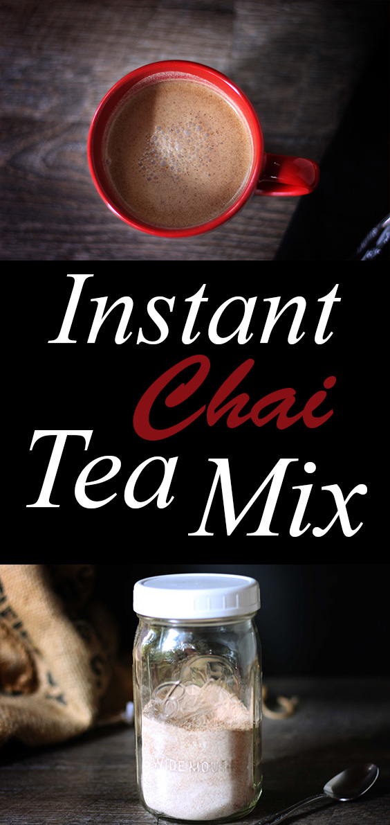 Vegan Chai Mix. Easy just add water. Perfect for backpacking. Yummy! #vegan #glutenfree #plantbased #backpacking #recipe