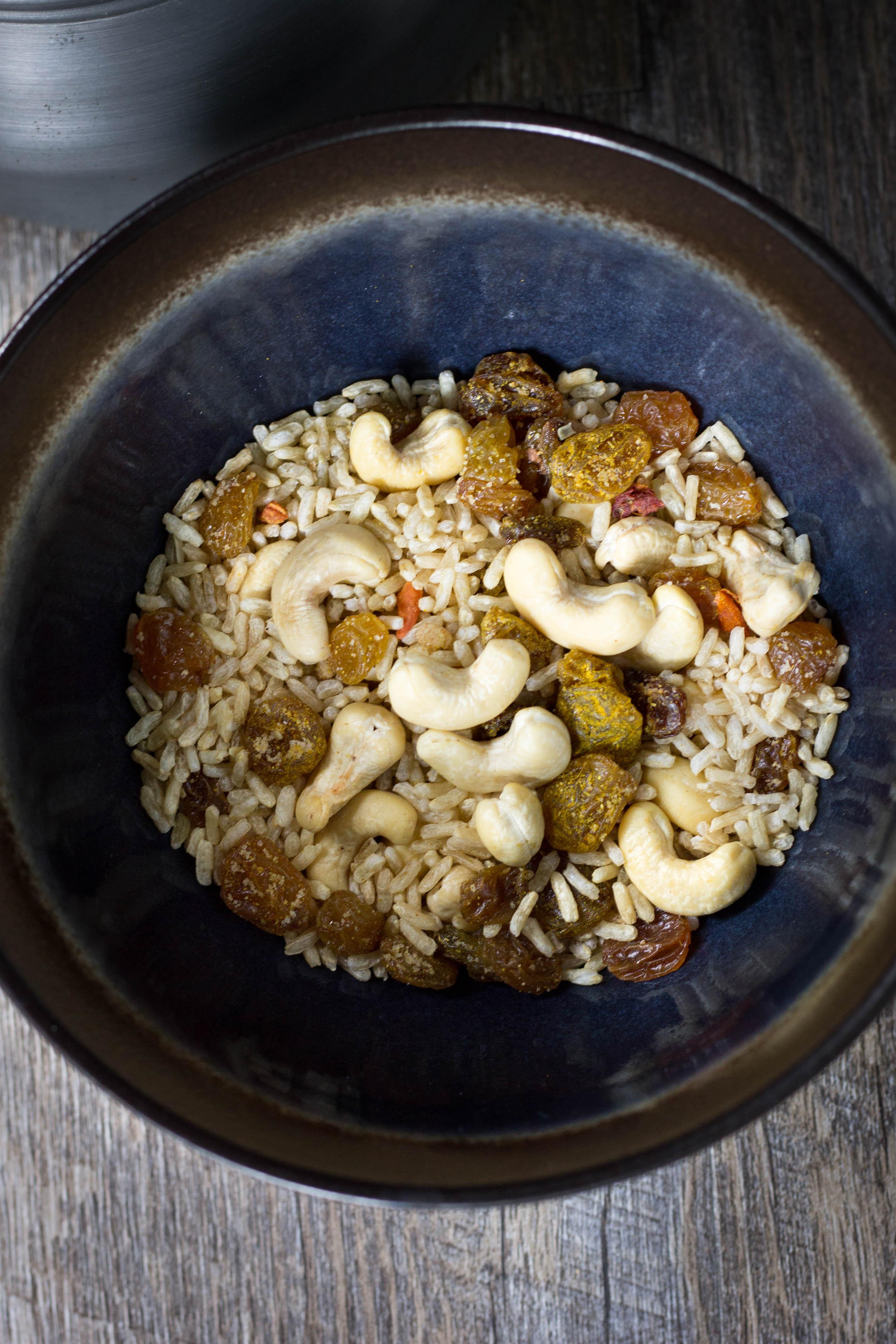 Vegan backpacking homemade dinner recipe