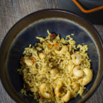 Vegan Backpacking Curry Rice