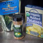 Loaded Vegan Backpacking Mashed Potatoes! #vegan #backpacking #plantbased #yummy #trailfuel #recipe #freezerbagcooking
