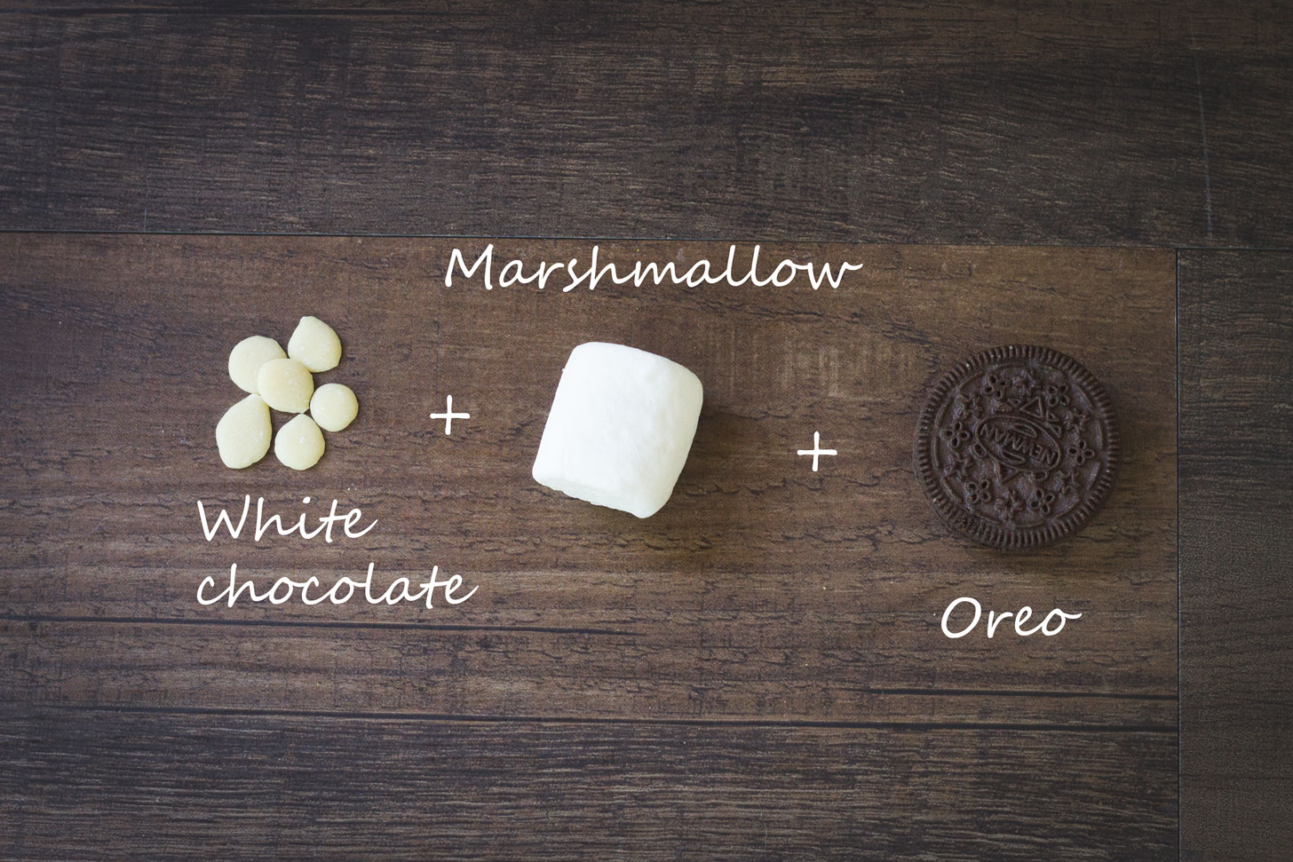 MORE S'MORES RECIPES!!! Vegan white chocolate, marshmallow, and oreo.
