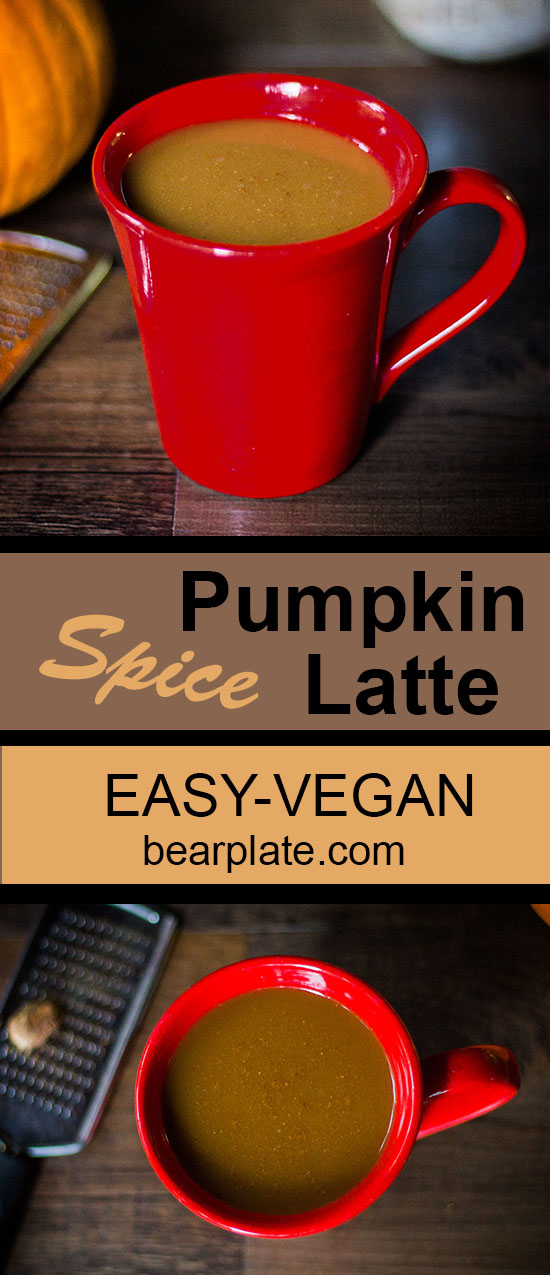 VEGAN PUMPKIN SPICE LATTE MIX! Perfect crisp fall mornings!