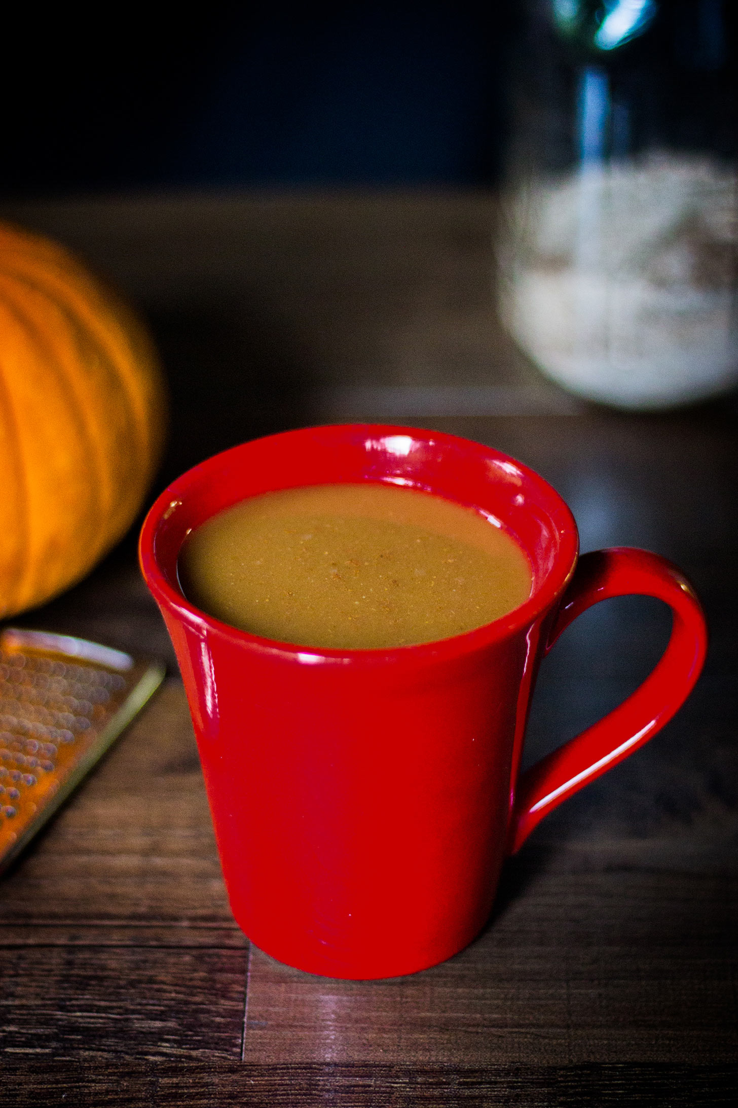 VEGAN PUMPKIN SPICE LATTE MIX! Perfect crisp fall mornings!