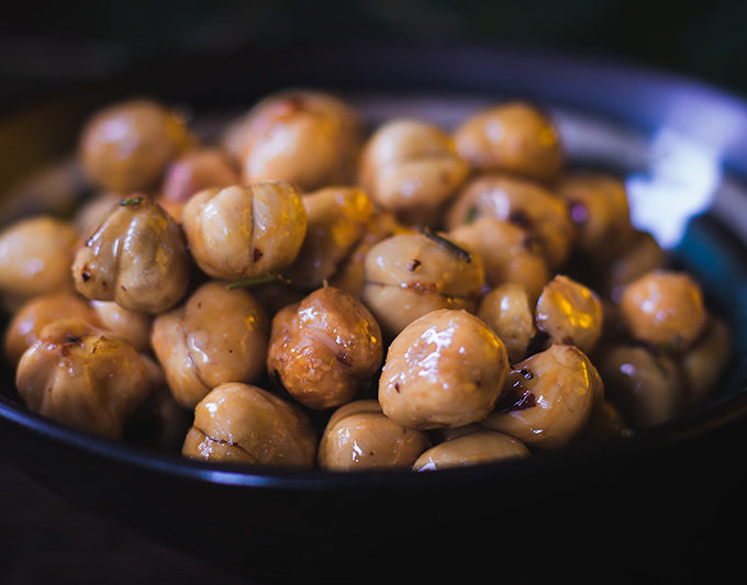 Spicy Rosemary Hazelnuts