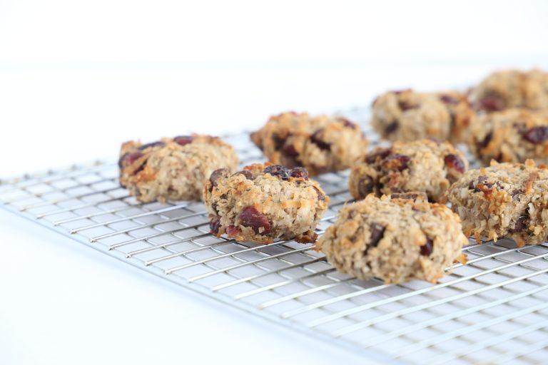 vegan trail cookies