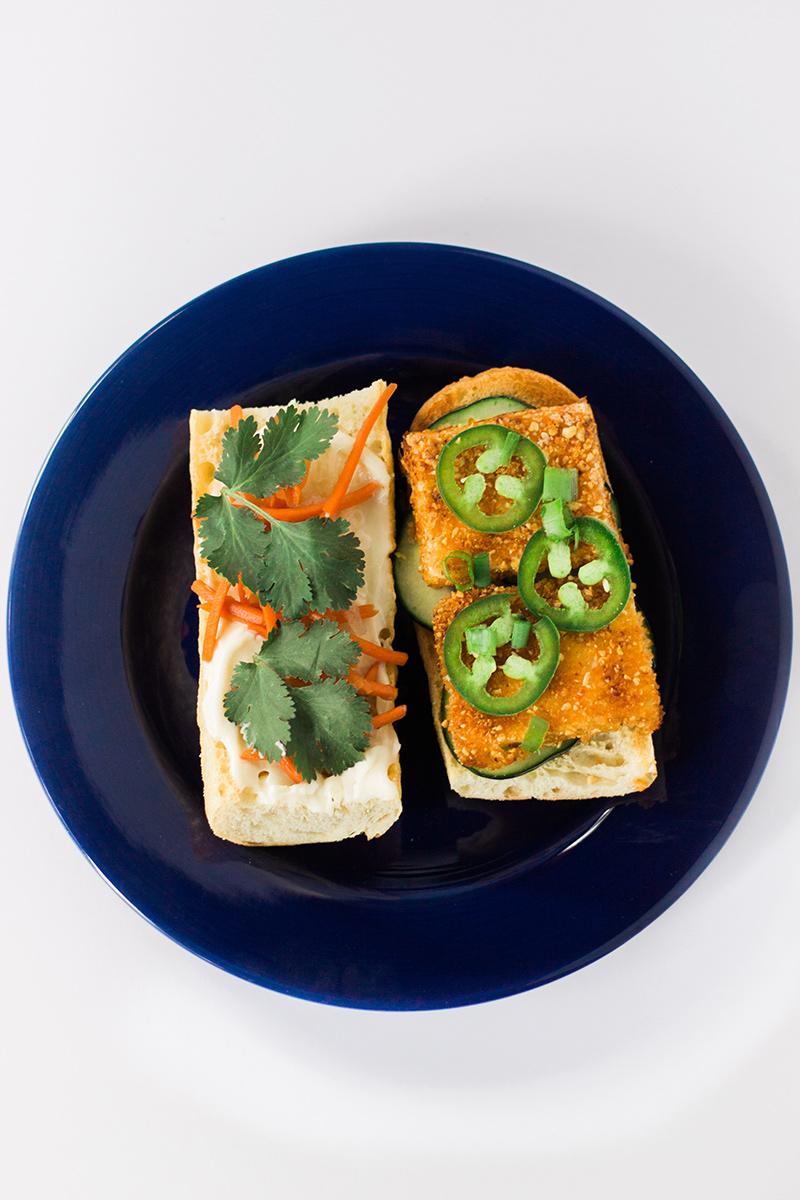 YUMMY!!! Vegan Banh Mi! #vegan #sandwich #lunch #dinner #recipe #food