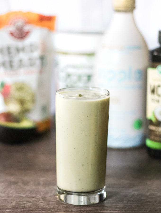 Vegan Keto Breakfast Smoothie