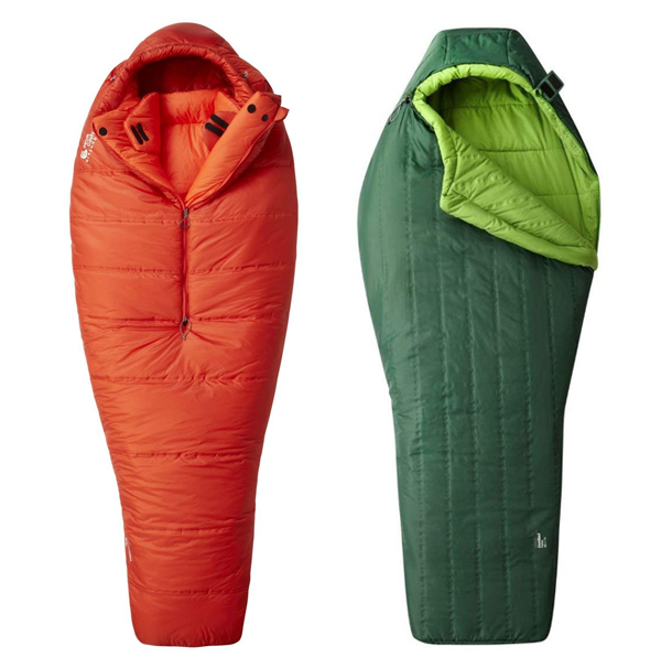 Vegan backpacking sleeping bag