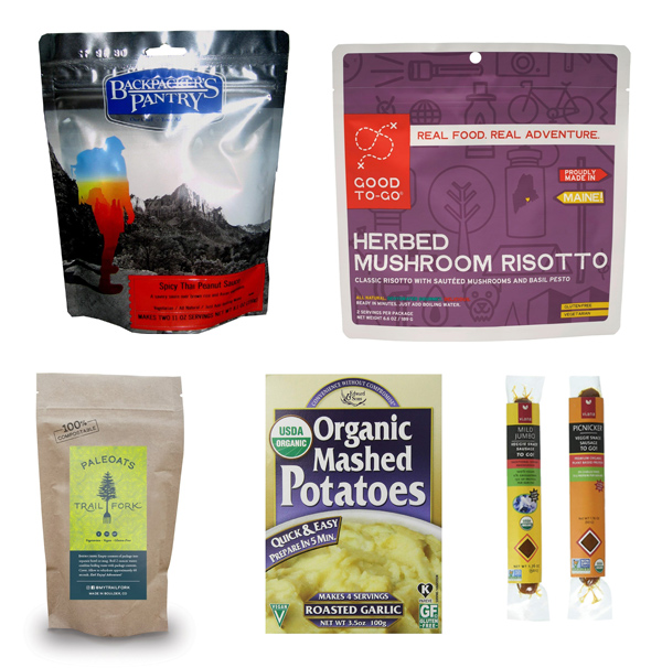 Vegan backpacking meals in our Amazon store.